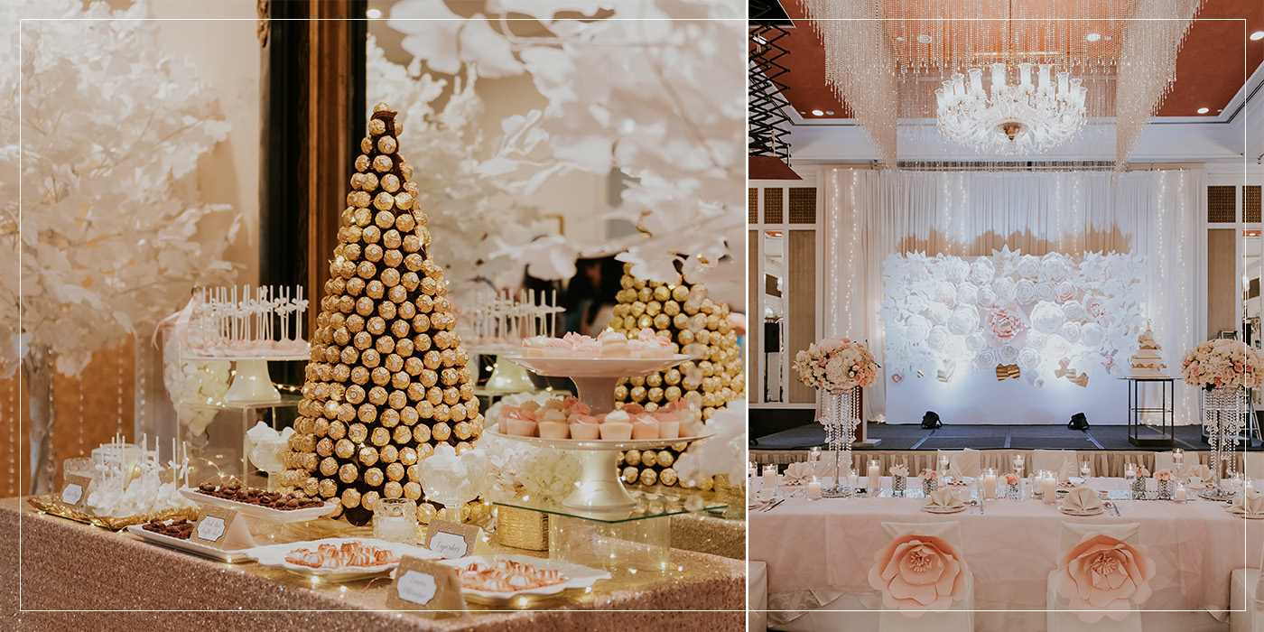 Singapore wedding decor